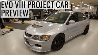 Pete's Mitsubishi Evo VIII Project Car at CBRD