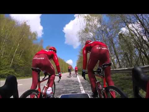 Training between Amstel Gold Race and La Fleche Wallonne