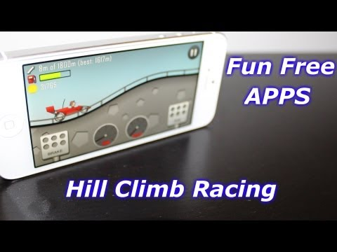 iPhone App Review - Hill Climb Racing