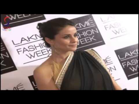 Gul Panag   Celebrities at Anita Dongre's fashion at LFW Day1 SV
