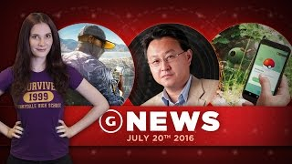 Nintendo Worth More Than Sony & Sony President Hacked! - GS Daily News