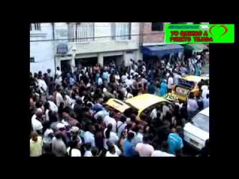 EL VIDEO DEL SEPELIO DEL TAXISTA ASESINADO EN PUERTO TEJADA