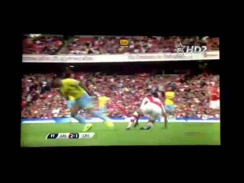 Puncheon's red card vs Arsenal