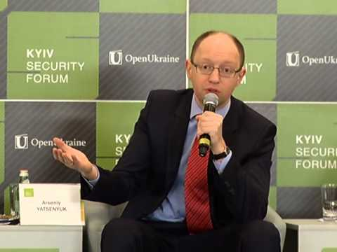 6th Kyiv Security Forum. Day 2: Spesial address - Аrseniy YATSENYUK