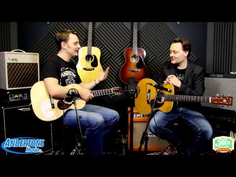 Martin Clapton & Mayer Guitar Review at Andertons