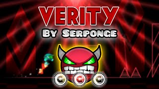 Geometry Dash [2.0] (Demon) - Verity by Serponge | GuitarHeroStyles