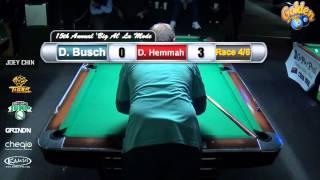 FINAL #10 - $1,500 Added 9 Ball - Daniel Busch vs Dave Hemmah