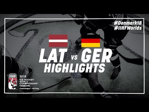 Game Highlights: Latvia vs Germany May 12 2018 | #IIHFWorlds 2018