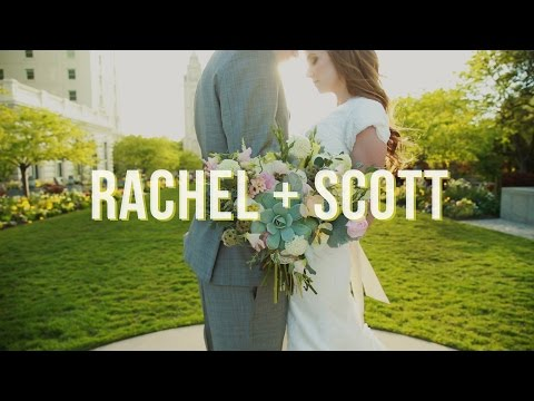 First Look Video at the Salt Lake City LDS Temple Wedding Video