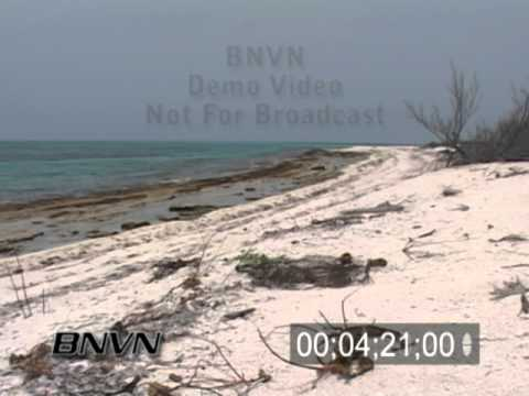 6/27/2007 Loggerhead Key Florida, Desert Island Beach Video.
