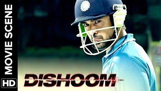 Viraj makes India win   Dishoom   Movie Scene