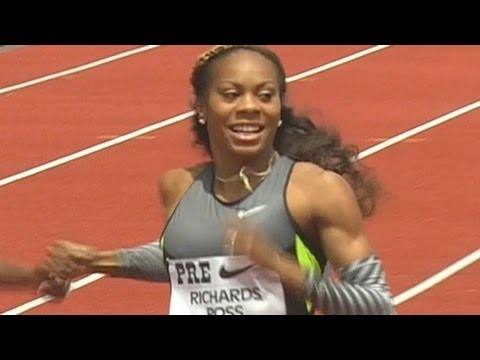 Sanya Richards-Ross drops a 49 sec bomb to win 2012 Pre Classic