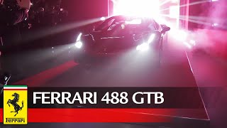 Ferrari 488 GTB - World Premiere highlights