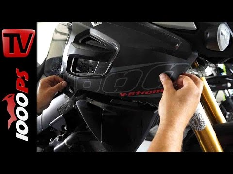 Felgenband Anleitung und Aufkleber Anleitung | Suzuki V-Strom 1000