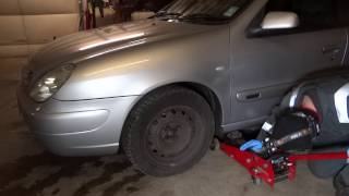 Citroen Xsara front wishbone bush replacement