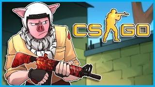 CS:GO Funny Moments & Fails! - diamondminer74, Another One Truck With Awp, and On Top of John's Mom!