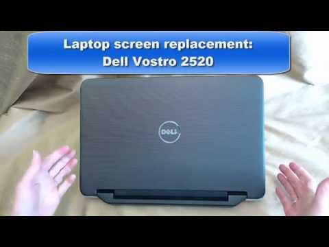 Laptop Screen Replacement / How to Replace Laptop Screen Dell Vostro 2520