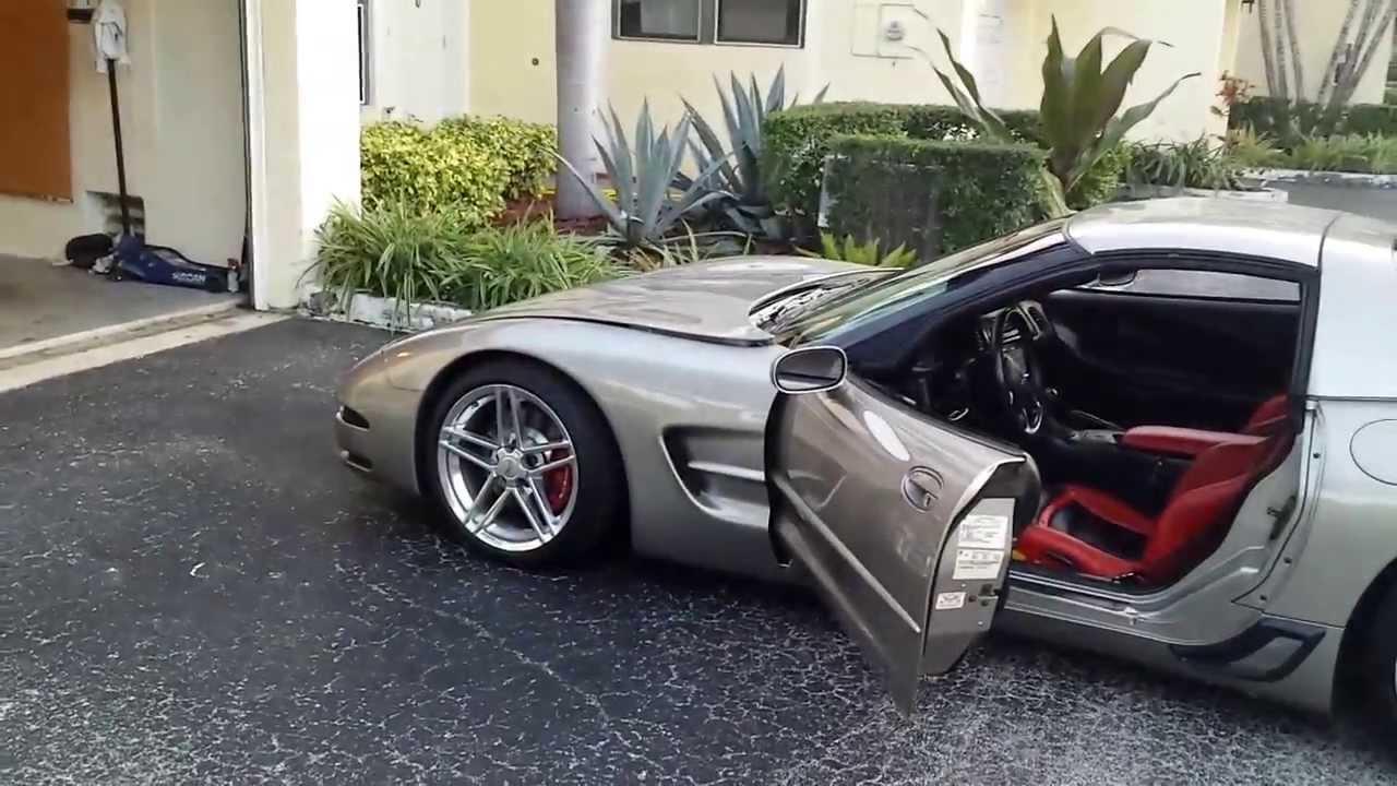 1999 Custom Corvette Youtube