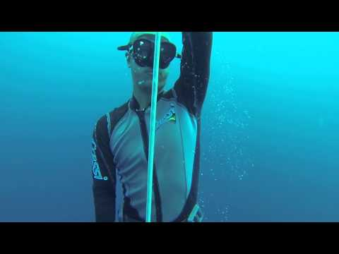 FreeDiving in Moalboal, Philippines - 20 meters