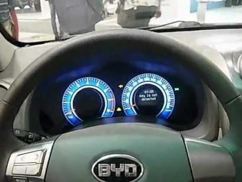 BYD G3, интерьер