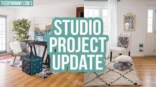 STUDIO PROJECT UPDATE! New Furniture & DIY Plans