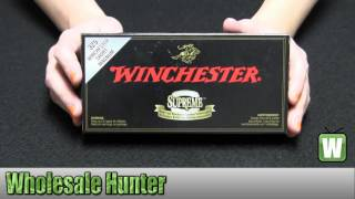 Winchester Ammo 325 WSM 180gr Supreme ST Ballistic Silvertip Per 20 SBST325S Unboxing
