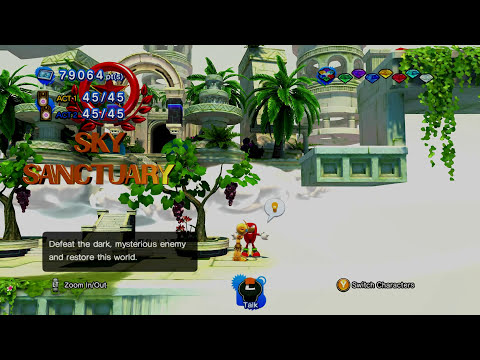 Sonic Generations PC - Emerl & Sky Sanctuary Remix Mod