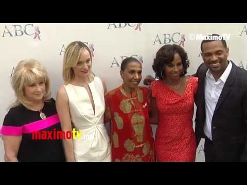 ABCs Mother's Day Luncheon 2013 Red Carpet Amber Valletta, Holly Robinson Peete, Nicole Murphy
