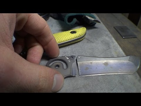 Knifemaking Tuesdays Week 79 - Update and More Straightening Blades
