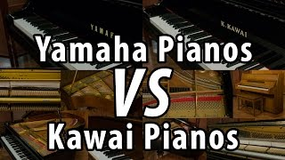 Yamaha Pianos Vs. Kawai Pianos - Which is Better?