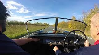Jaguar XK120 run out