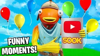 Kenworth's 500,000 Subscriber Fortnite Funny Moments Special!
