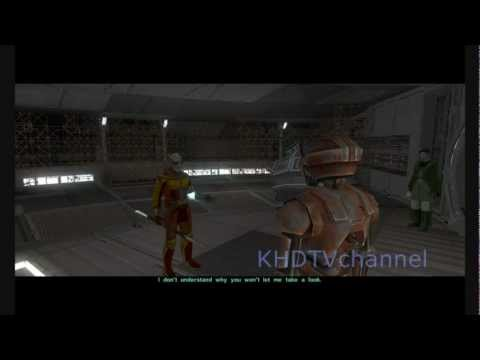 Kotor 2 TSLRCM 1.8.1 Walkthrough part 24 - Kreia's Fall ( Dark Side Male )