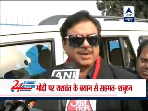 Shatrughan Sinha backs Narendra Modi as PM candidate