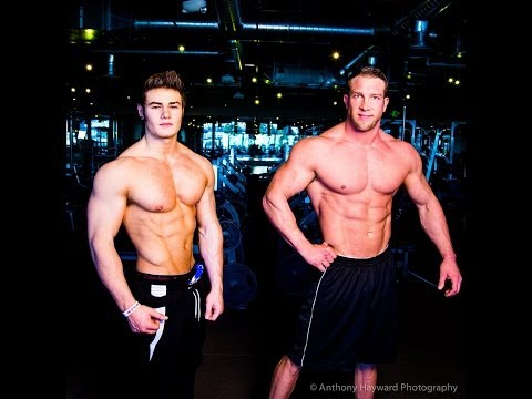 Ifbb Pro Physique Competitors Jeff Seid & Matt Patison - Chest Workout video