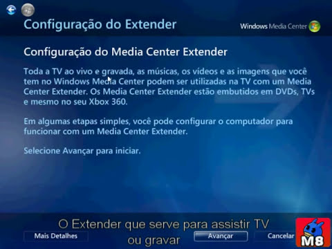 Windows Media Center Veja como é!