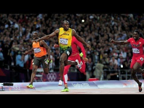 Usain Bolt Wins 100m