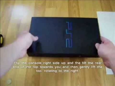 PART 1: Sony SCPH-30001 R PS 2 disc drive cleaning tutorial