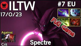 ILTW [Espada] plays Spectre!!! Dota 2 Full Game 7.20