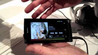 CES 2012 - First Look_ Sony Walkman Z Android media player