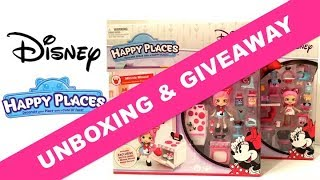 Happy Places Disney Minnie Mouse Theme Pack Unboxing & Giveaway (CLOSED)