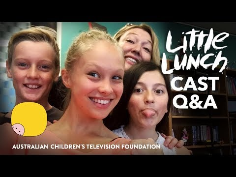 Little Lunch Cast Q&A Webinar – Australian Primary Schools