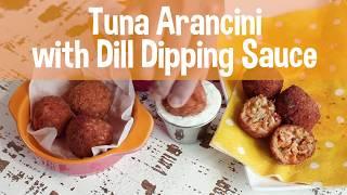 GFHS Snack Healthy, Snack Happy- Tuna Arancini