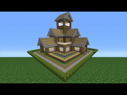 Minecraft Tutorial: How To Make A Small Survival House - 6