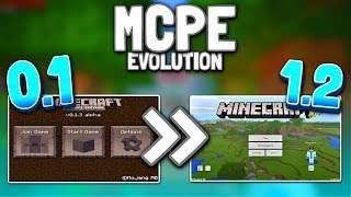 MCPE Evolution 0.1 to 1.2! Minecraft PE History (0.1 to 1.2) - Minecraft Pocket Edition Evolution