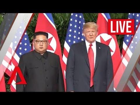 [LIVE HD] Trump-Kim summit livestream | Realtime Coverage | Channel NewsAsia
