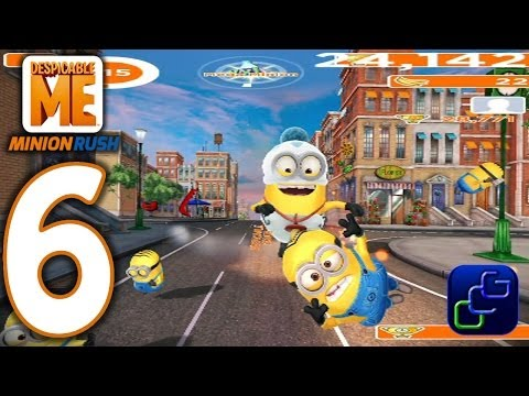 Despicable Me: Minion Rush Android Walkthrough - Part 6 - NEW Update: DOWNTOWN Bank