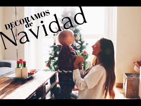 Decoramos de NAVIDAD + DIY Súper fáciles!! #AyudantesdelaNavidad