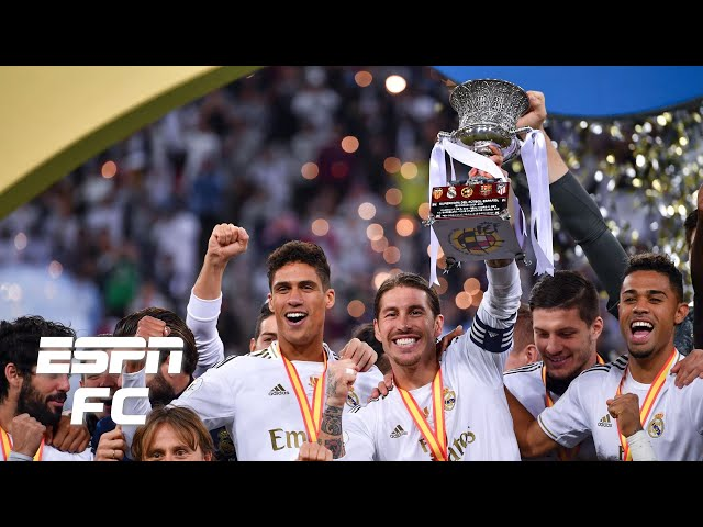 Real Madrid vs. Atletico Madrid highlights: Zidane's side wins it in penalties | Spanish Supercopa thumbnail