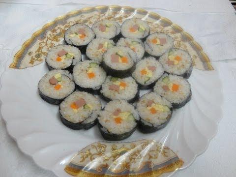 أكلات كوريه -أعشاب البحر مع الأرز김밥 ج2 Music Videos